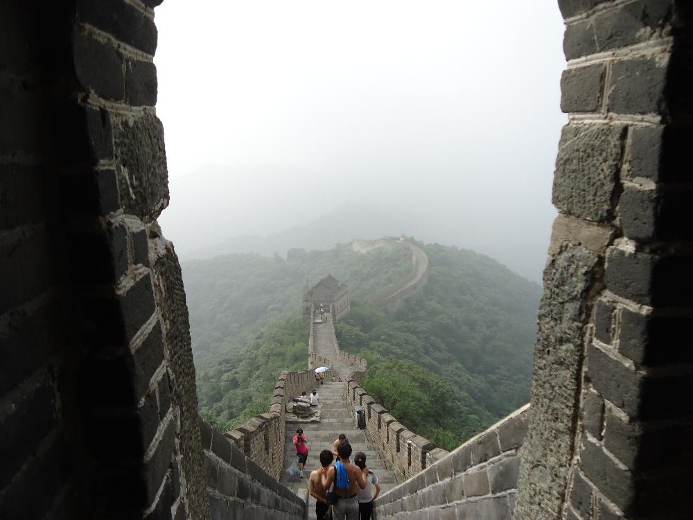 Walking the Great Wall, China