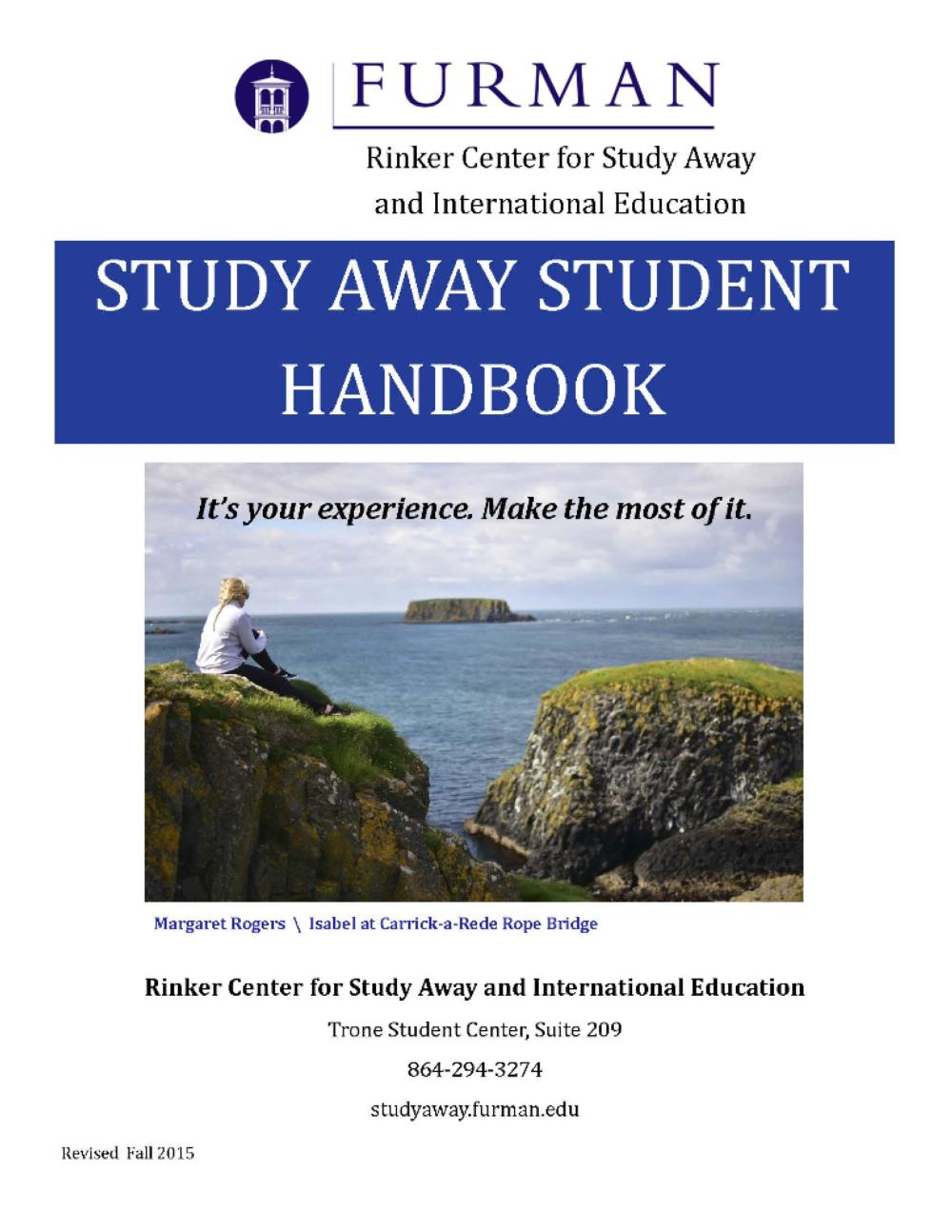 Furman University Study Away - College & University ...