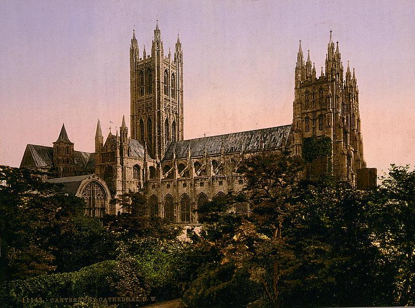 Canterbury Cathedral 1890