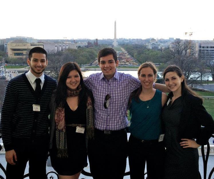 Photo of students in Washington, DC